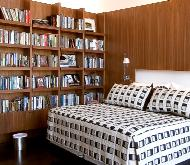 BEDROOM BOOKCASE AND PANELING